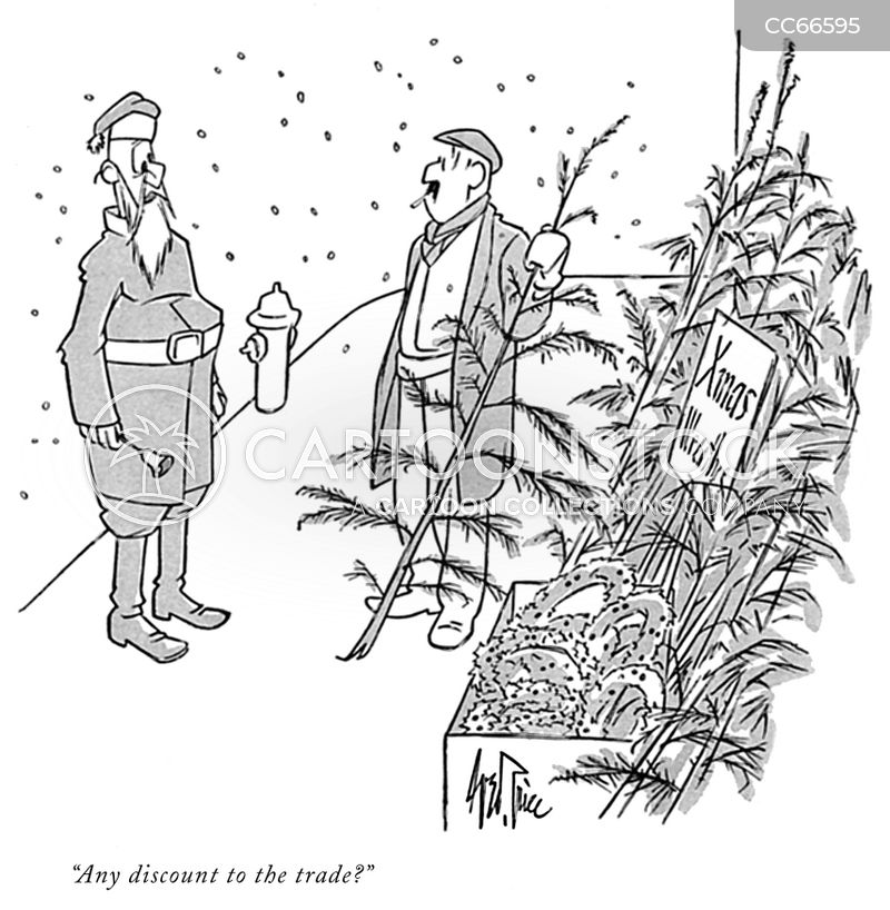 industry discounts cartoon