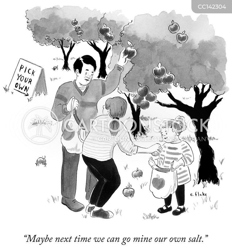 orchard cartoon