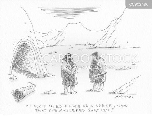 spear cartoon