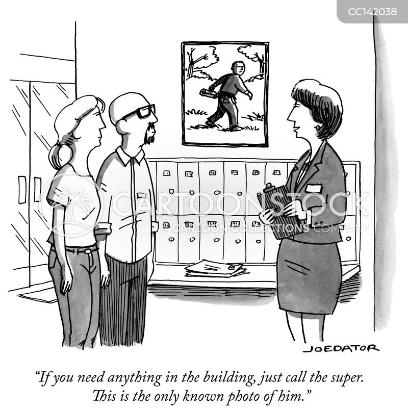 condominiums cartoon