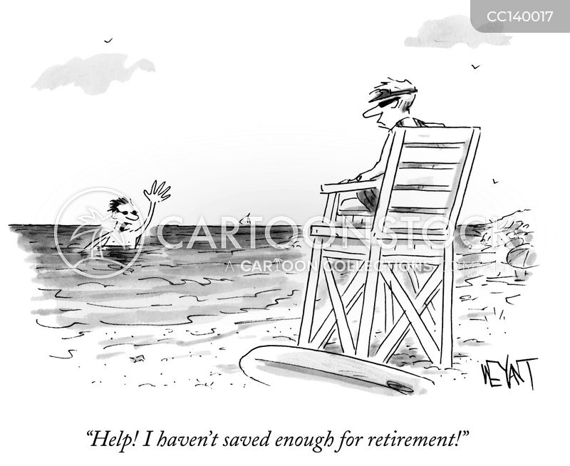 financial planner cartoon