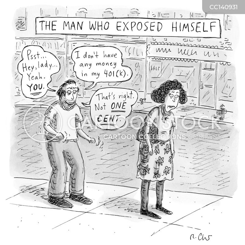 expose cartoon