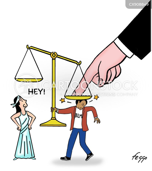 imbalanced cartoon