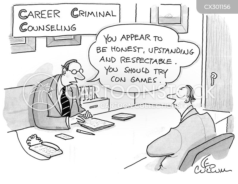 Job Counseling cartoon