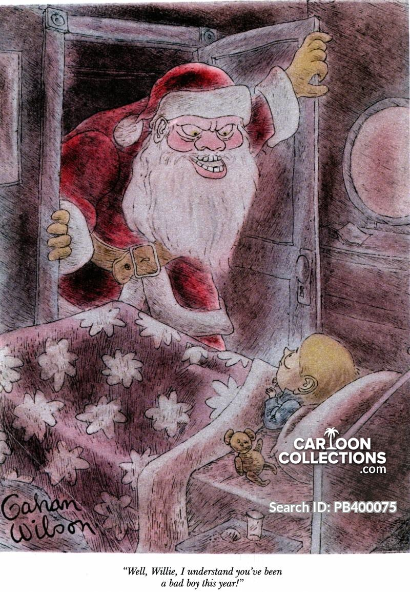 jolly old st nicholas cartoon