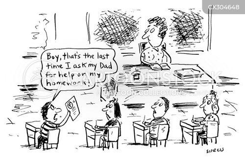 mark cartoon