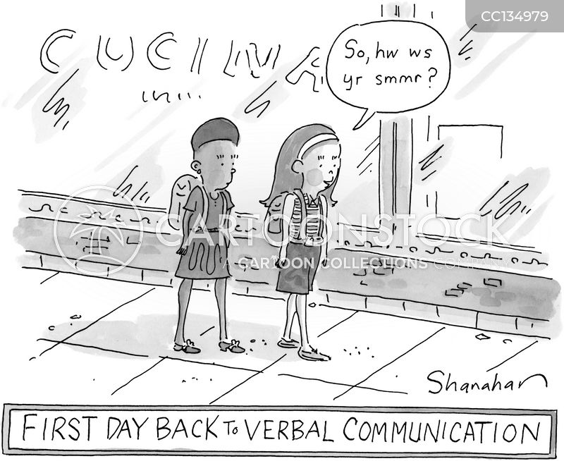 Vowel cartoon