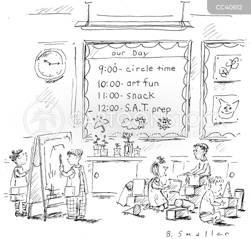 admissions cartoon