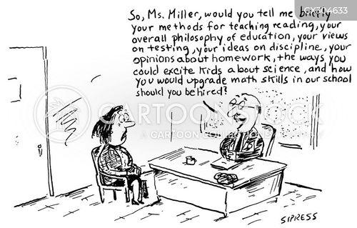 principal cartoon