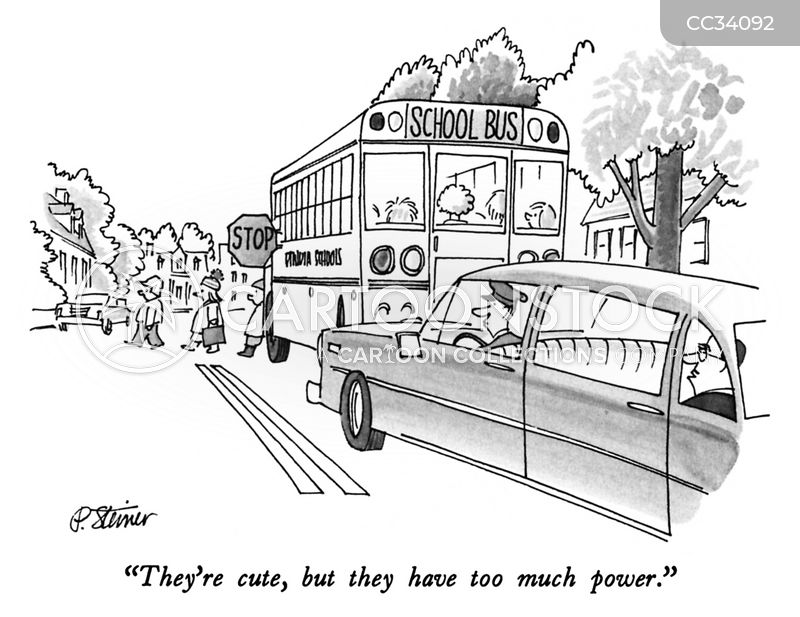 traffic jams cartoon