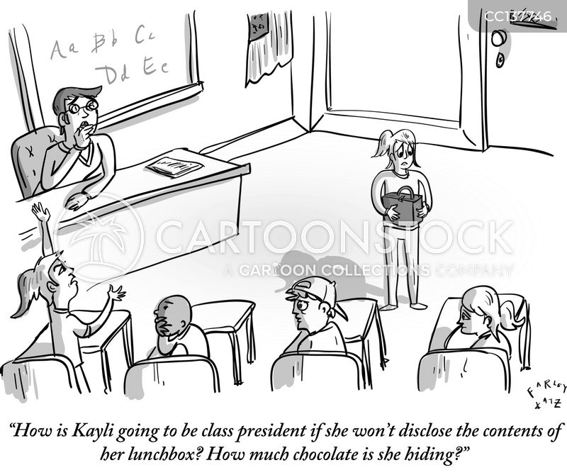 Class President cartoon