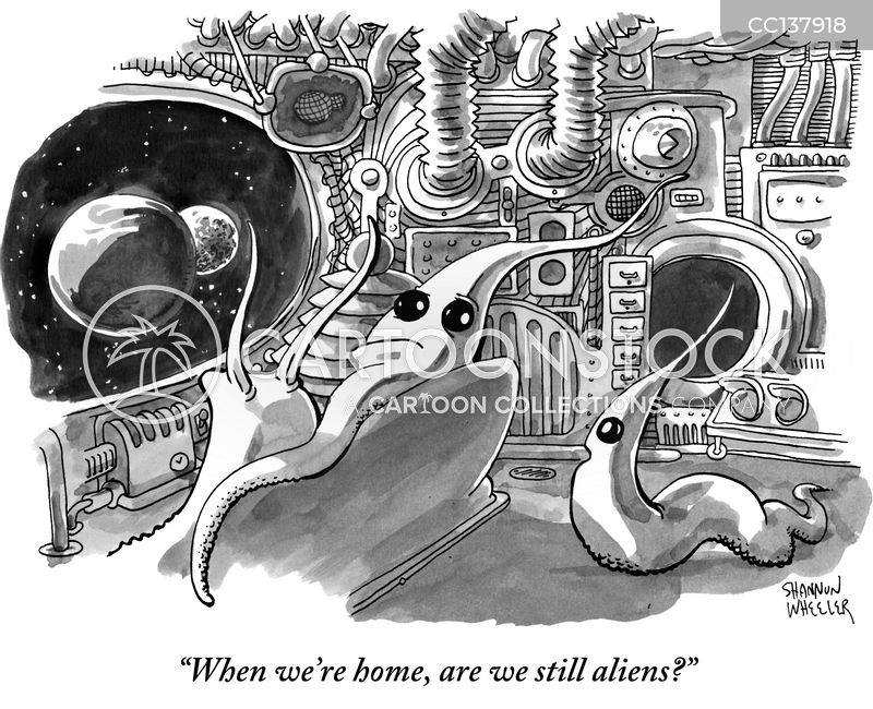 science fiction cartoon