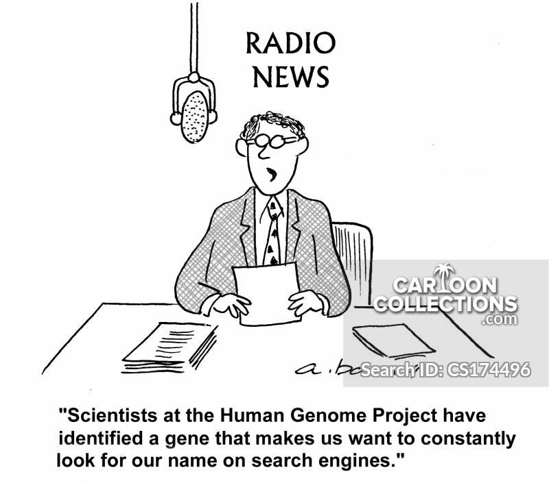 human genome project cartoon