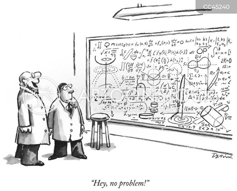 problem solvers cartoon