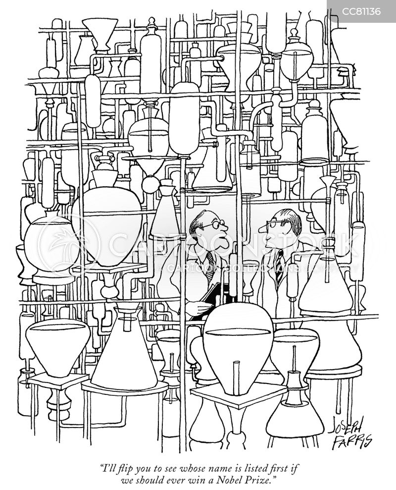 chemists cartoon