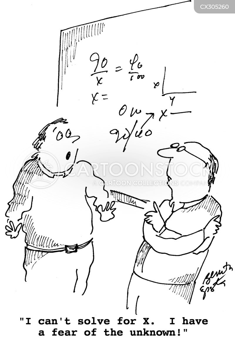 Algebra cartoon