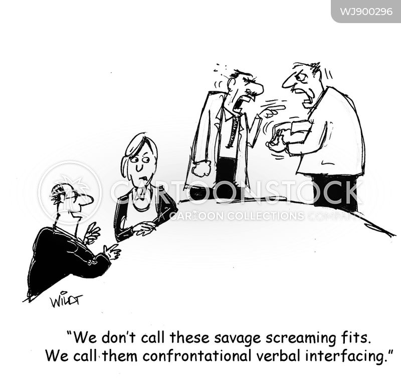 workplaces cartoon