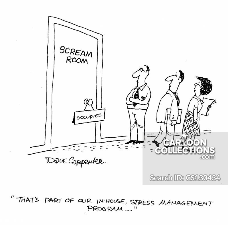 in-house training cartoon