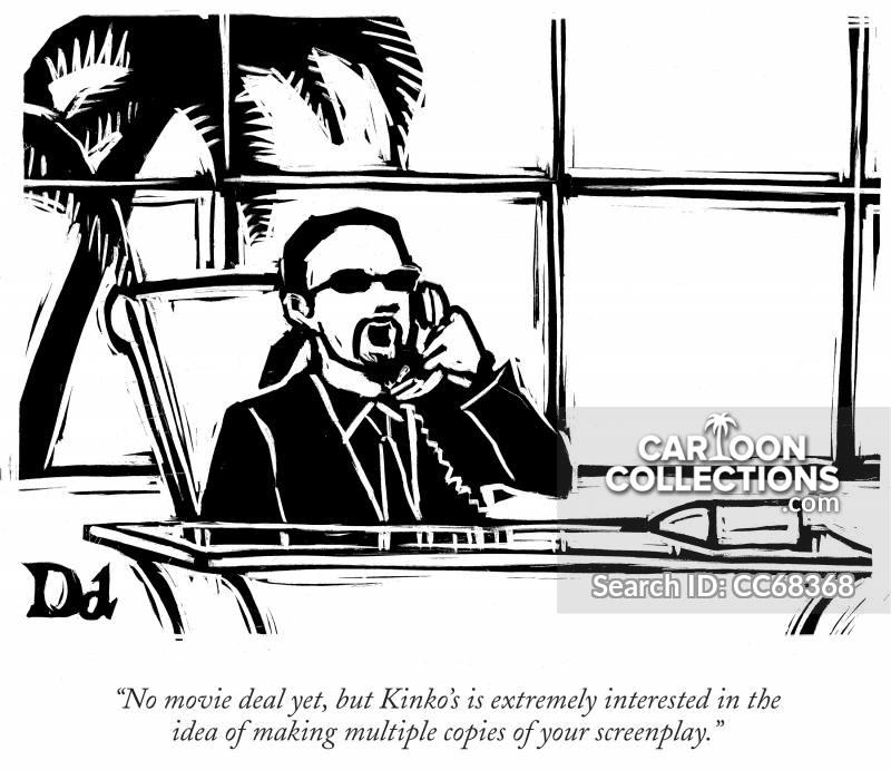 agents cartoon