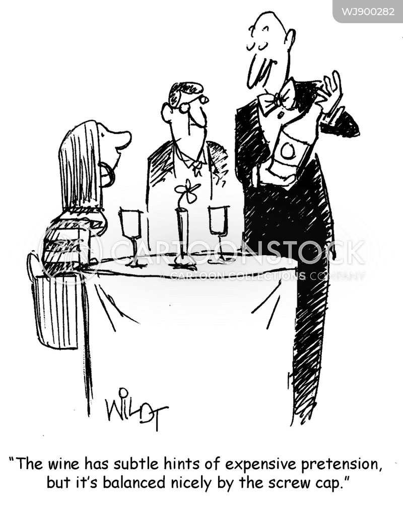wines cartoon