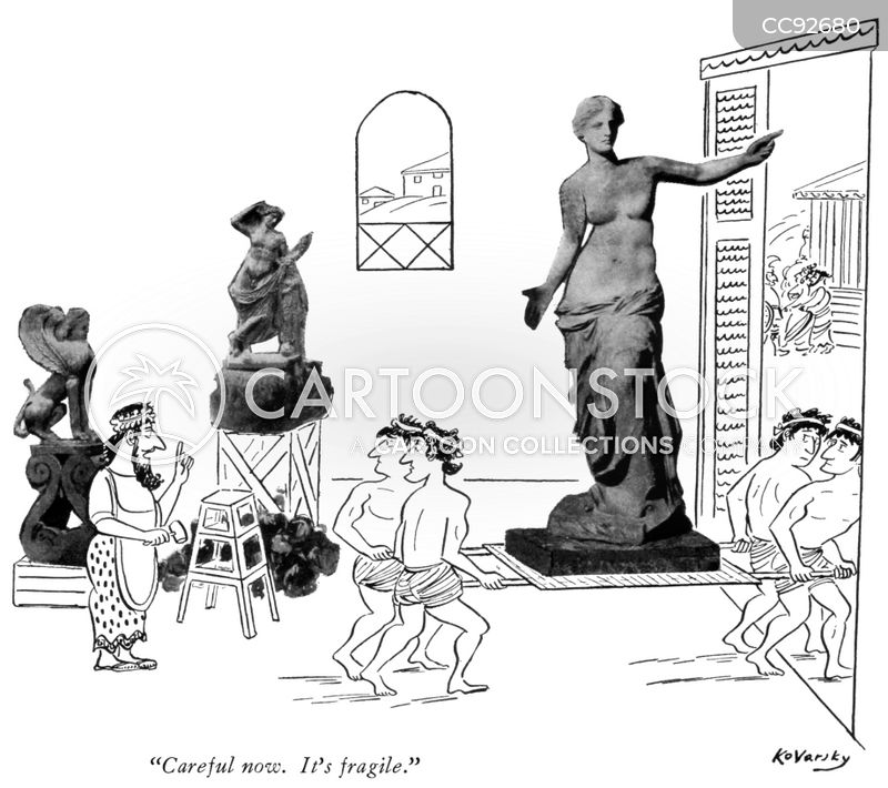 grecian cartoon
