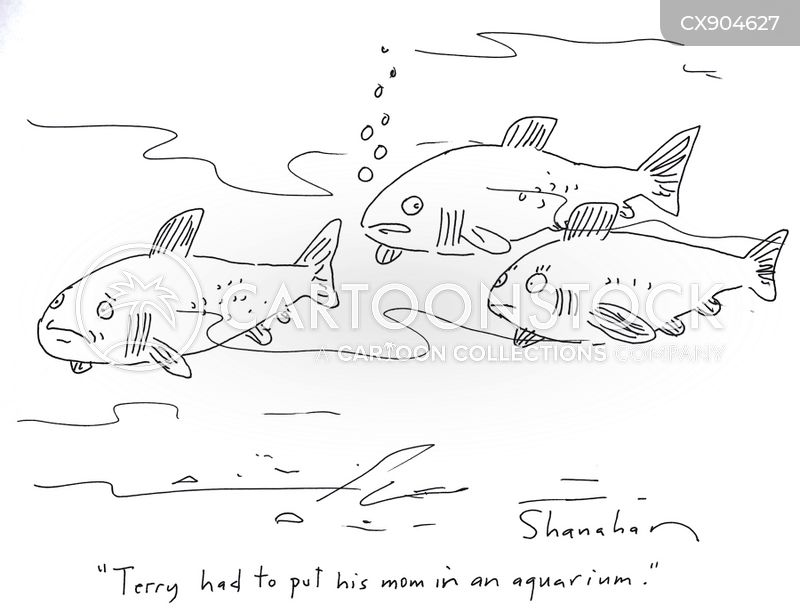 ocean life cartoon