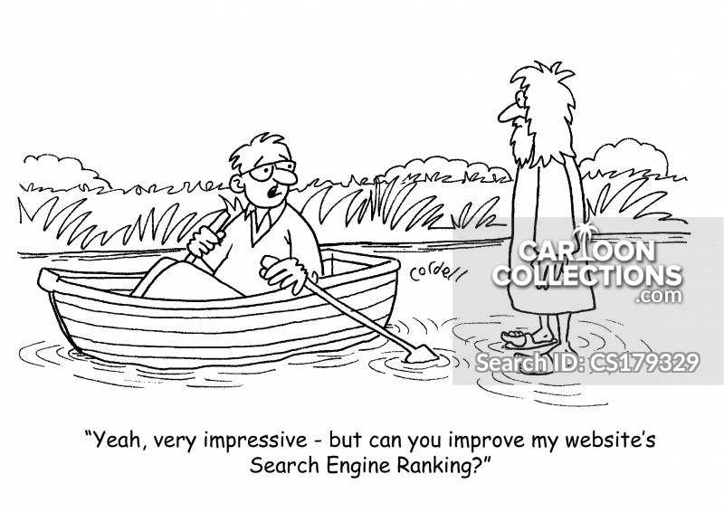web ranking cartoon