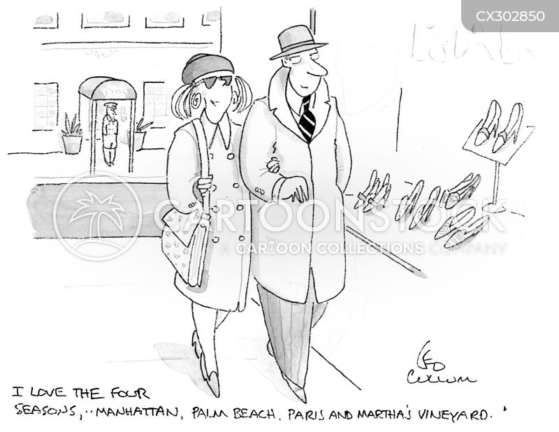 wealthy woman cartoon