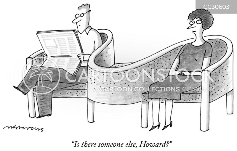 conversation bench cartoon