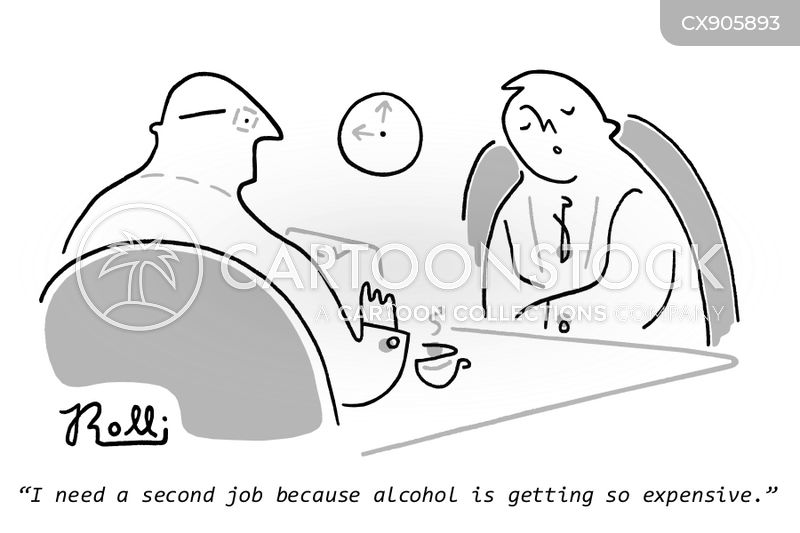 second jobs cartoon