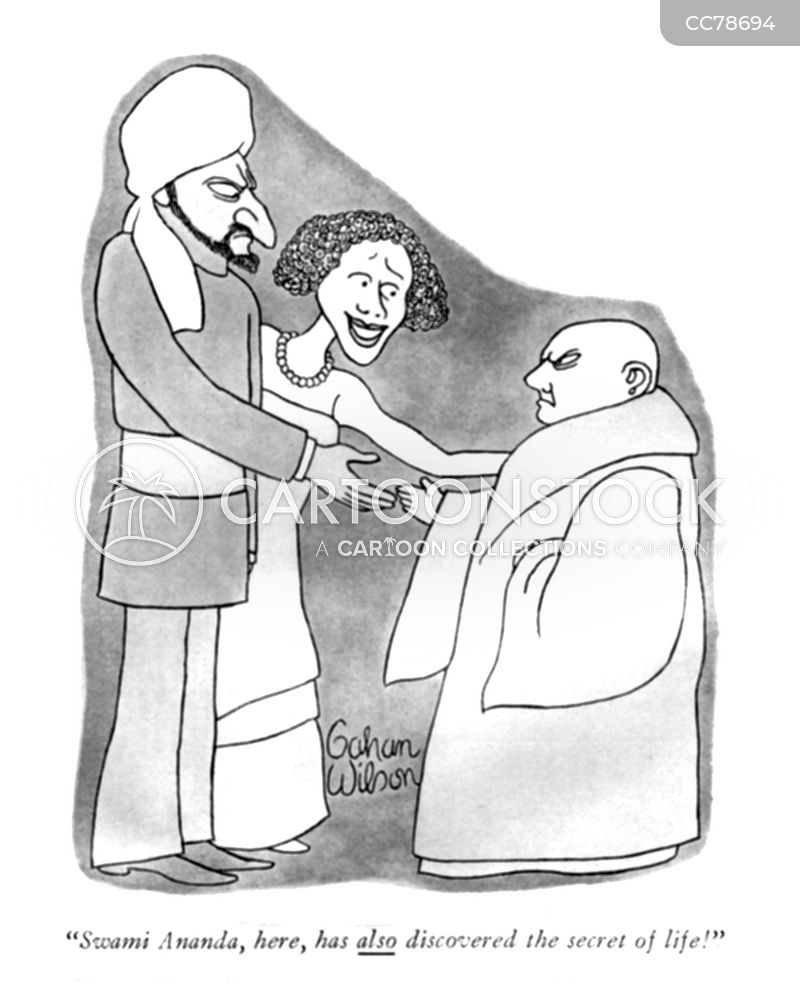 religious leader cartoon