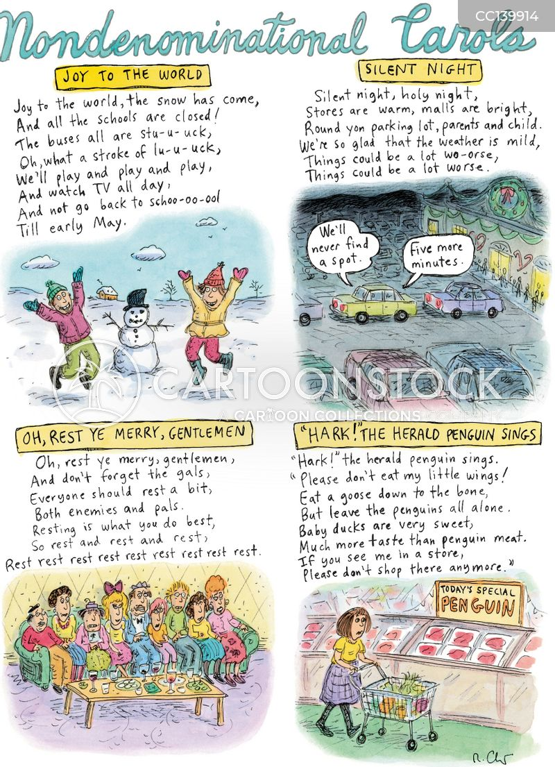 carols cartoon