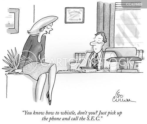 whistleblower cartoon