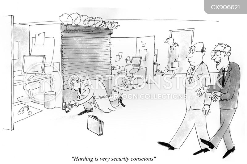 online security cartoon