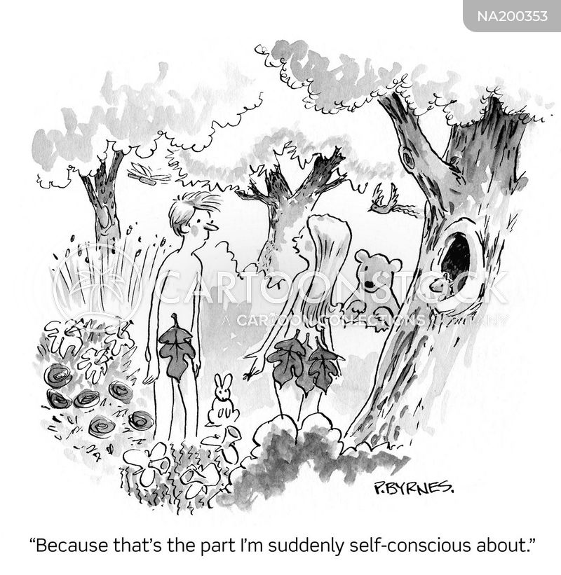 image conscious cartoon
