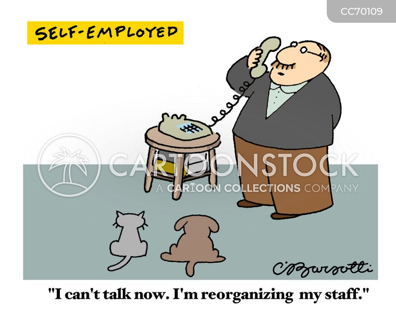 staff cartoon