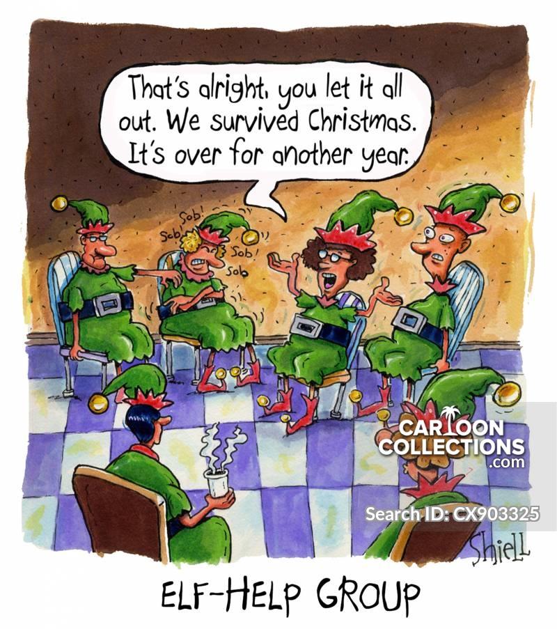 festive period cartoon