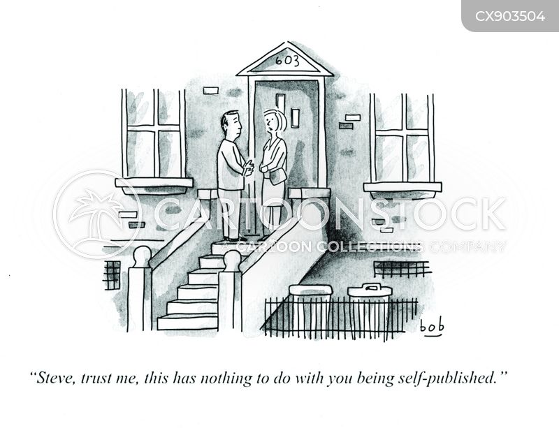 self-publication cartoon