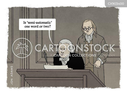founding fathers cartoon