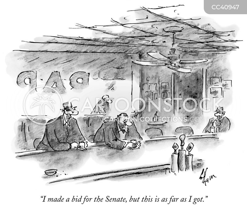 visiting diners cartoon