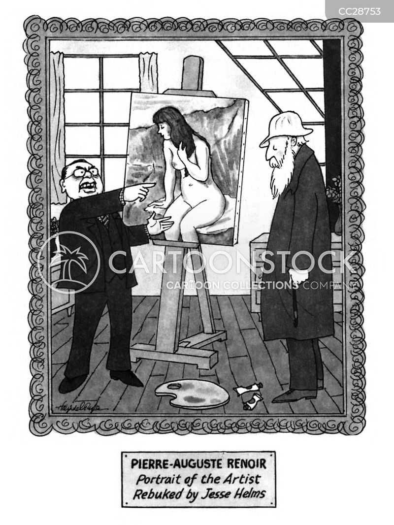 Robert Mapplethorpe cartoon