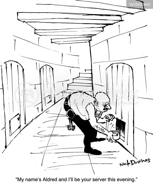 prison guard cartoon