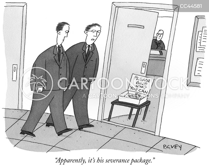 severance cartoon