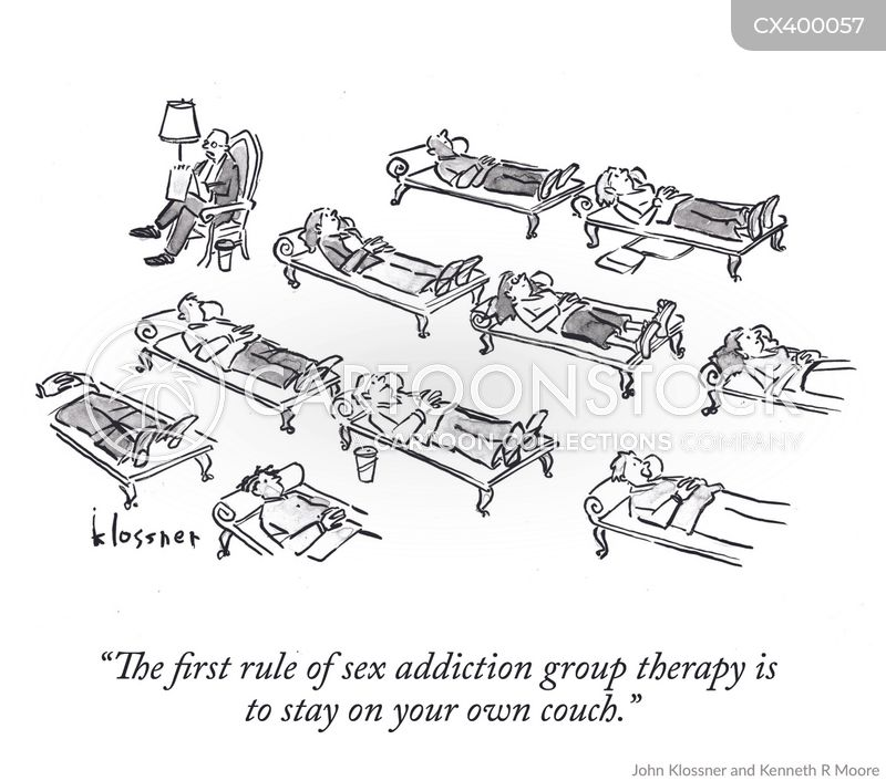 therapists couch cartoon