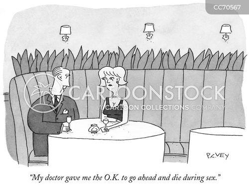 medical advice cartoon