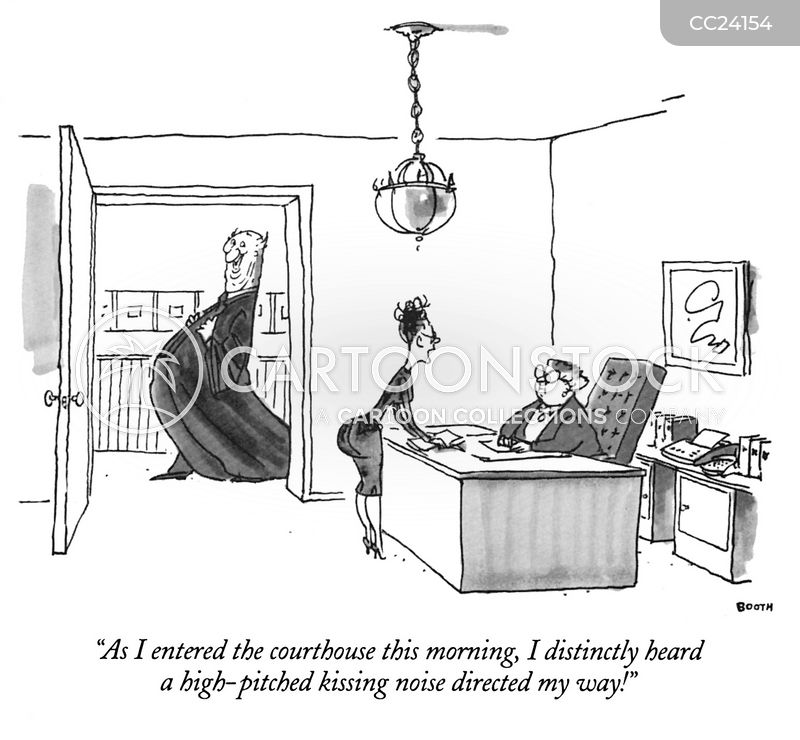 Workplace Harassment cartoon