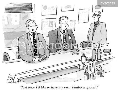after work drinks cartoon