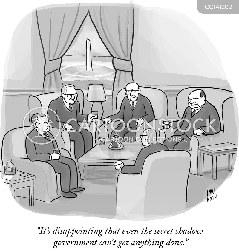 conspiracies cartoon
