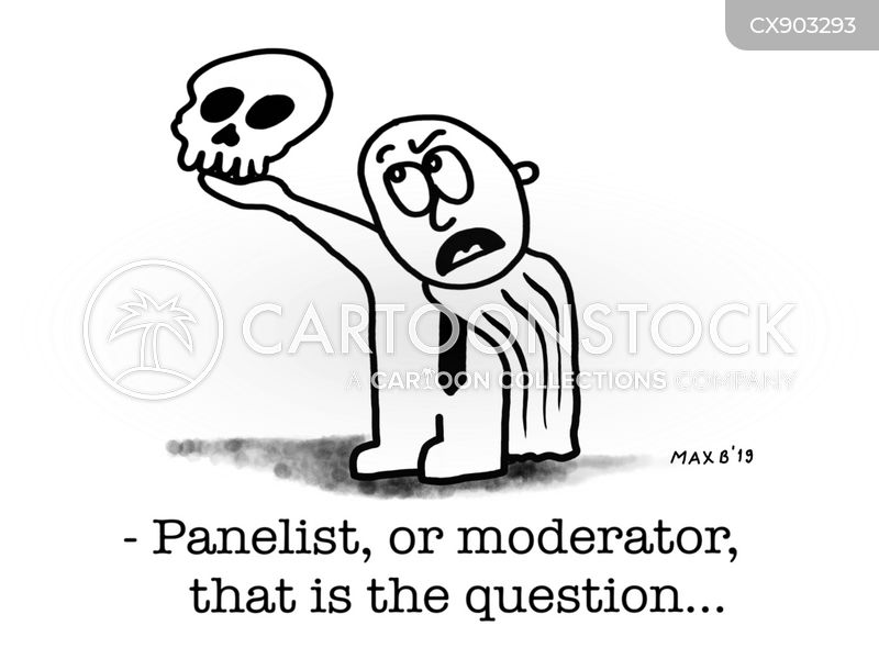 moderators cartoon