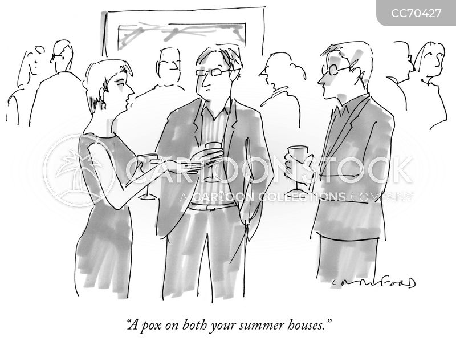 summer house cartoon